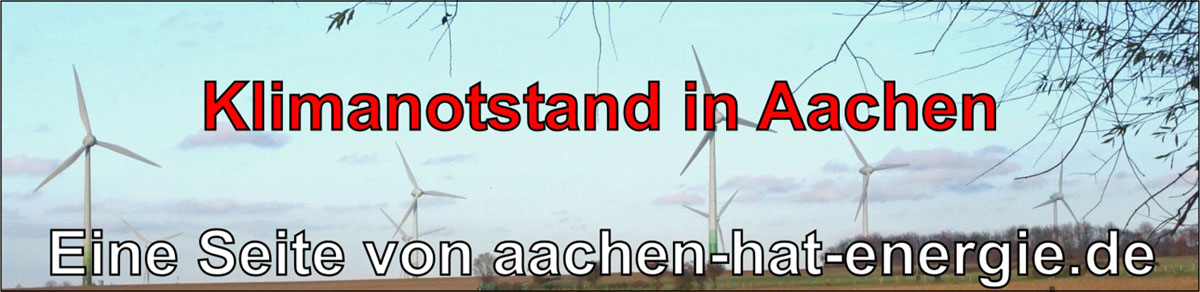 Klimanotstand Aachen